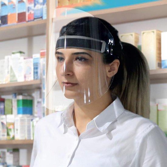 Gelaatsscherm | Hygiene masker | Spatscherm | Gezichtsbescherming | Gecertificeerd