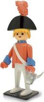 Verzamelfiguur Playmobil: Officier met rood kostuum XL (25 cm)