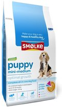 Smolke Puppy Mini/Medium - Kip - Hondenvoer - 12 kg
