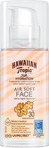Hawaiian Tropic Silk Hydration Airsoft Face Zonnebrand SPF30 50 ml