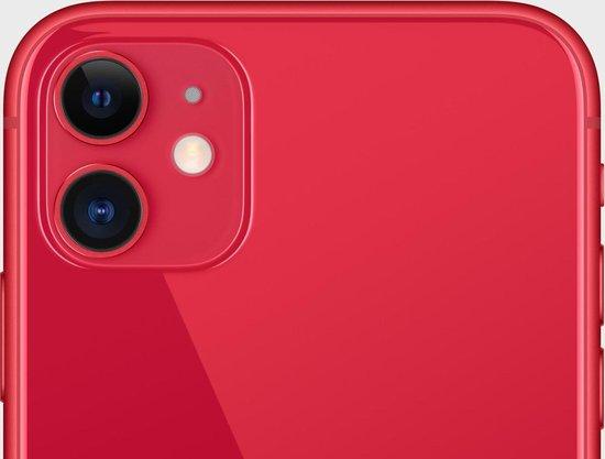Apple iPhone 11 - 128GB - Rood