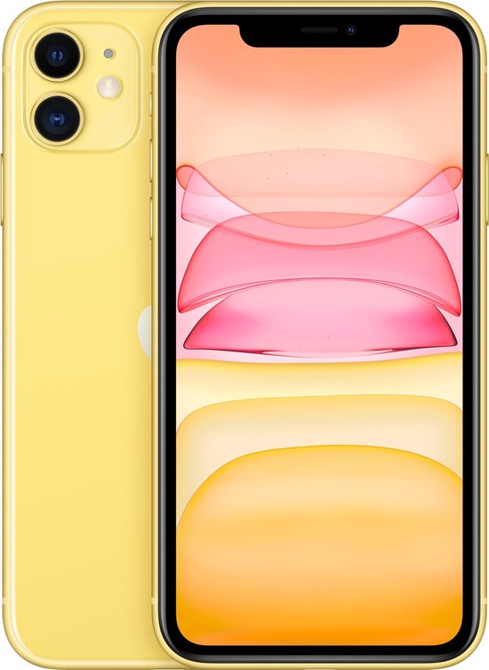 Apple iPhone 11 - 64GB - Geel