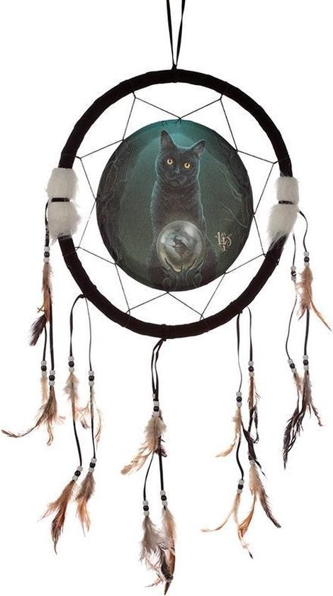 Dromenvanger kat 33cm Lisa Parker - Rise of the witches cat-