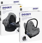 Dooky Combi Pack - Hoody & Seat Cover 0+ - Grey Stars