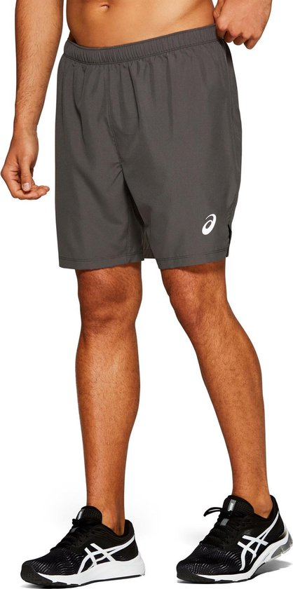 Asics Silver 7IN Short  Sportbroek - Maat L  - Mannen - grijs