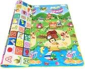 WiseGoods - Educatief Speelkleed - Speelmat - Kinderen Tapijt - Baby - Alfabet Tapijt - Puzzel - Jongens / Meisje - 180 x120CM