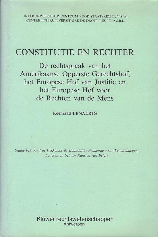 CONSTITUTIE EN RECHTER - none |