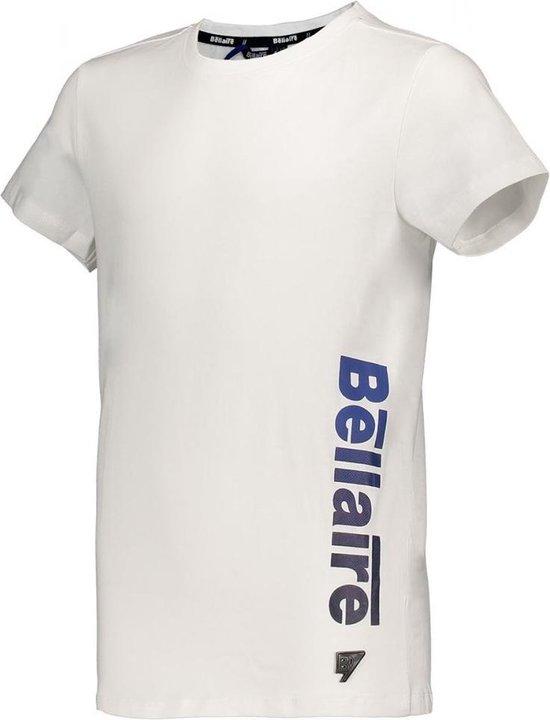 Bellaire Jongens t-shirts & polos Bellaire Karst short sleeves T-shirt motive p wit 170/176