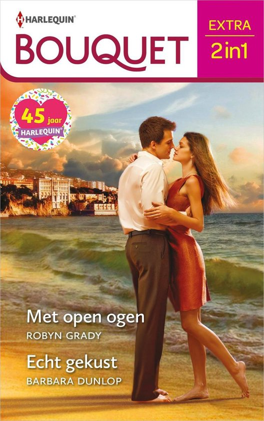 Bouquet Extra 537 - Met open ogen ; Echt gekust - Robyn Grady |