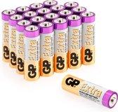 GP Extra Alkaline batterijen AA mignon penlite LR06 batterij 1.5V - 20 stuks AA batterijen