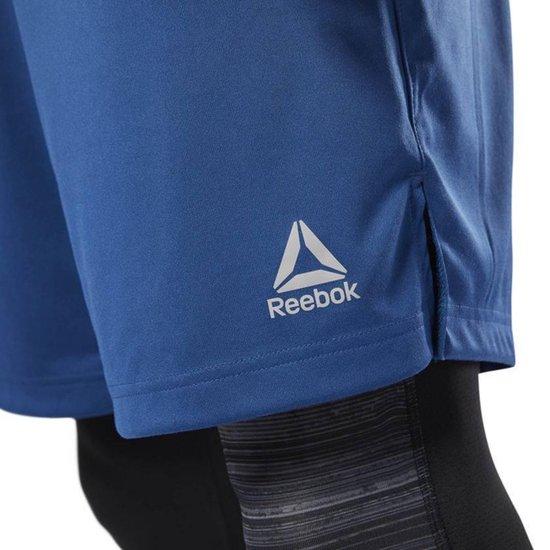 Reebok Speedwick Short Blauw