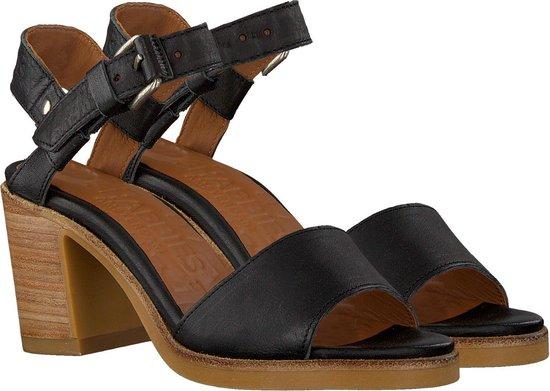 Shabbies Dames Sandalen 163020074 - Zwart Maat 37 QCmFL2