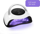 LIFETASTIC® Professionele Nagellamp-120 watt -LED-UV -Ingebouwde timer-Gellak-Gelnagels-Salon-Nageldroger-Krachtig-Manicure