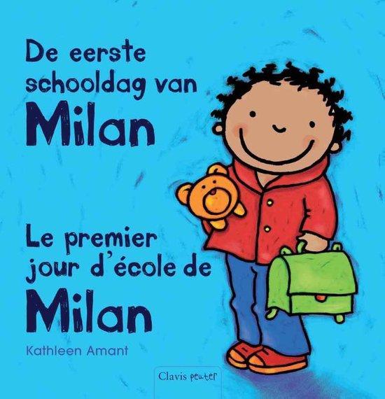 De eerste schooldag van Milan - Le premier jour d'ecole de Milan - Kathleen Amant | Readingchampions.org.uk