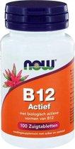 Now Foods - Vitamine B12 Actief 1000 mcg - 100 Zuigtabletten