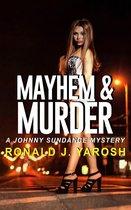 Omslag Mayhem & Murder