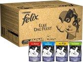 Felix Elke Dag Feest - Katten natvoer - 80 x 100 g