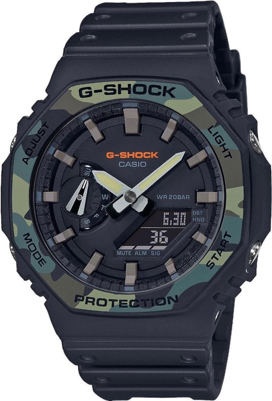 Casio G-Shock Heren Horloge GA-2100SU-1AER - 45 mm