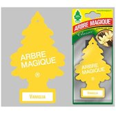 Geurboom Auto Luchtverfrisser Vanille -Arbe Magique - Wonderboom