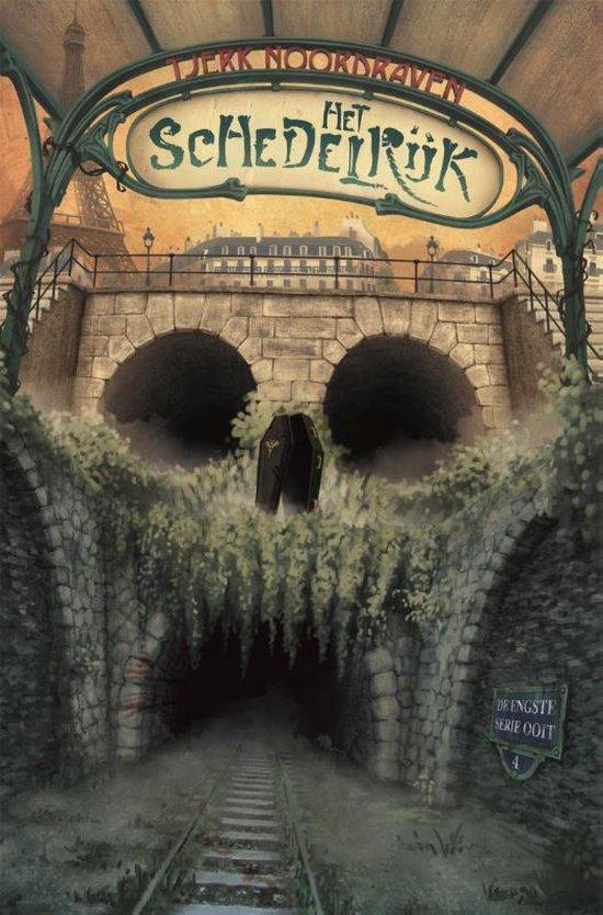 Boek cover De engste serie ooit 4 -   Het schedelrijk van Tjerk Noordraven (Hardcover)