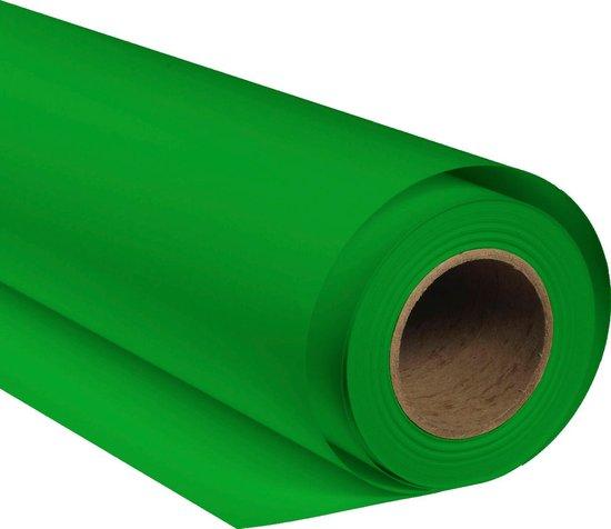 Bresser Achtergrondpapier op Rol - SBP10 - 1.36x11m - Chromakey Groen