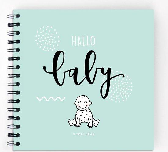 Wonderlijk bol.com | Hallo babyboek • Invulboek voor het eerste jaar van jouw CG-94