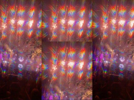 Zwarte Spacebril Met Spiraal Diffractie Effect | Diffractiebril Diffractieglazen Spiraal