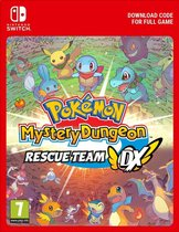 Cover van de game Pokemon Mystery Dungeon: Rescue Team DX - Nintendo Switch download
