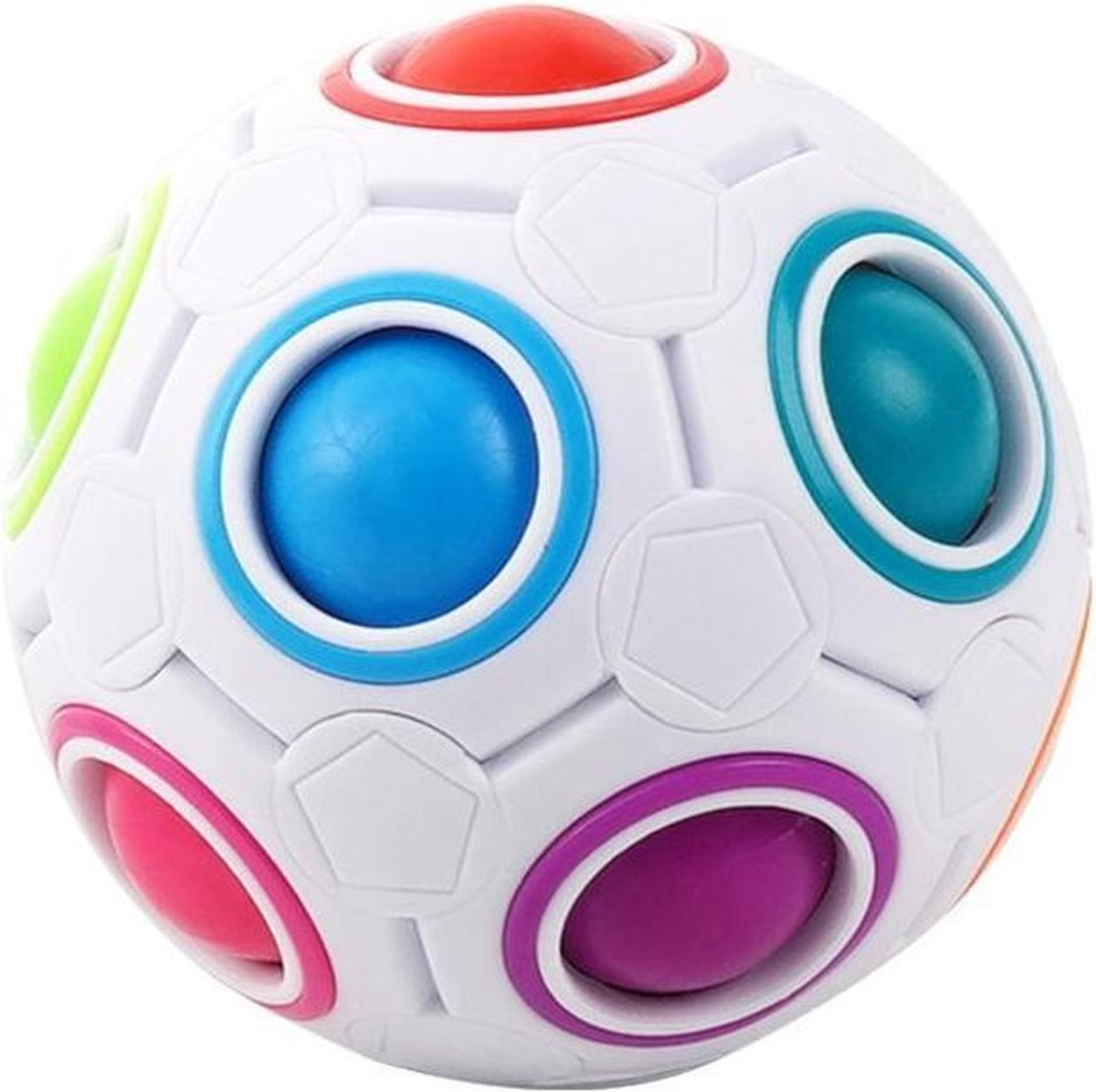Fidget Bal Puzzel | Speelgoed | Rage | Puzzel Ball | Stress Bal | Friemel Puzzel Bal | Nieuw Model Fidget | Fidget Puzzle Ball