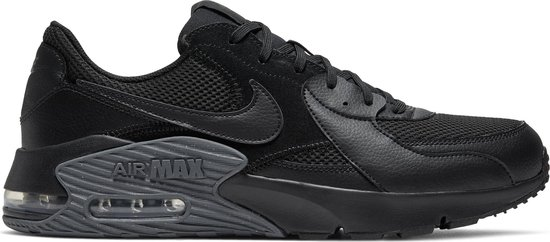 Nike Air Max Excee Heren Sneakers - Black/Black-Dark Grey - Maat 45