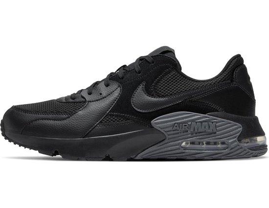 Nike Air Max Excee Heren Sneakers - Black/Black-Dark Grey - Maat 44