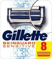 Gillette SkinGuard Sensitive Scheermesjes - 8 Stuks - Brievenbus Verpakking