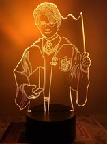 Harry Potter cadeau lamp. Tafellamp Harry Potter, nachtlamp kind. Mood lamp. 7 kleuren.