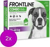 Frontline Combo Spot On 3 Large Hond Large - Anti vlooien en tekenmiddel - 2 x 3 pip