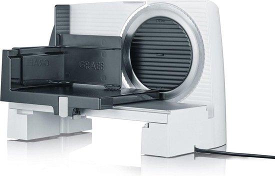 Graef SKS 11001 snijmachine Electrisch Wit Aluminium 170 Watt 0 tot 20mm gekarteld mes