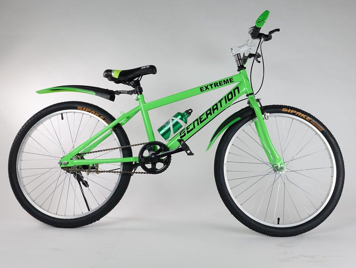 """Generation Extreme fiets 24"""" Groen"""