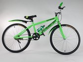 "Generation Extreme fiets 24"" Groen"