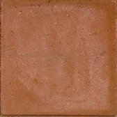 25 stuks! Betontegel rood 30x30x4.5 cm Gardenlux
