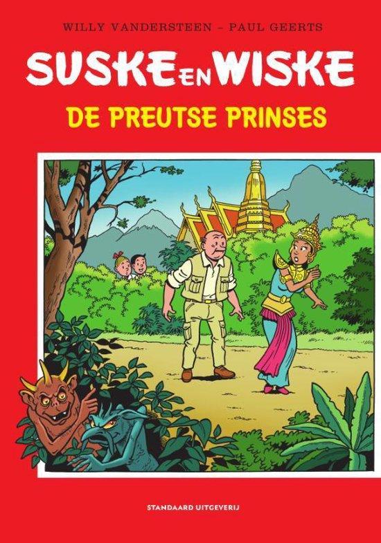 Afbeelding van Suske en Wiske - De Preutse Prinses