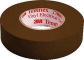 3M Temflex 1500 Fe-5100-8935-5 Isolatietape Temflex 1500 Bruin (L X B) 10 M X 15 Mm 1 Rollen
