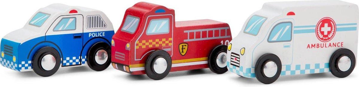 New Classic Toys - Mini Voertuigen Set - 3 stuks