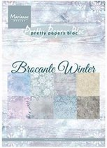 Marianne Design • Bloc brocante winter
