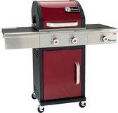 Landmann Gasgrill Barbecue - RVS - Rood