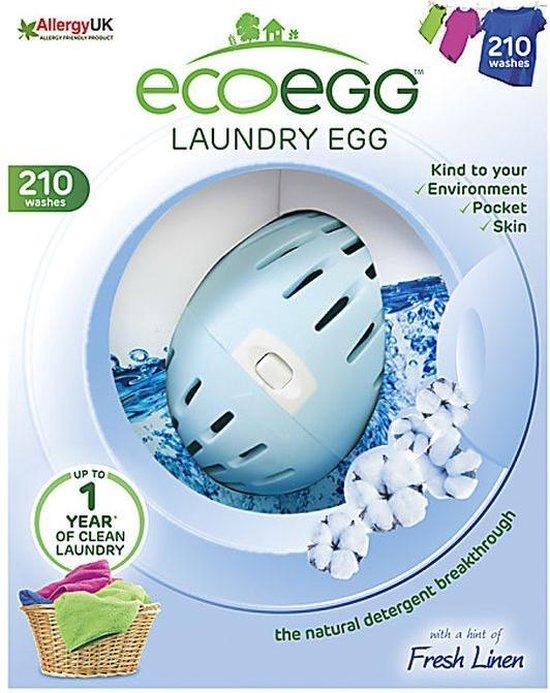 Eco-egg Wasbol Linnen geur 210 - Wasbeurten
