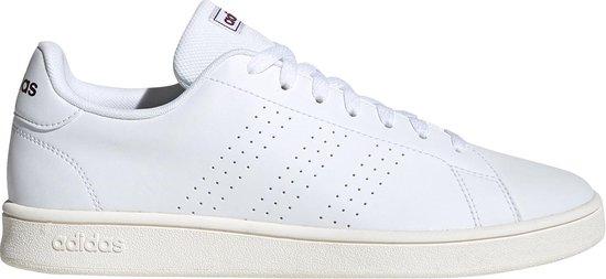 bol.com | adidas - Advantage Base - Wit - Heren - maat 46 2/3