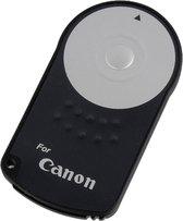 WiseGoods - Draadloze Afstandsbediening RC-6 voor CANON Camera's - Remote Shutter - Zelfontspanner - Draadloos - Bluetooth - Zwart