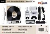 Vinyl Cleaning Kit deluxe met opvouwbare LP houder