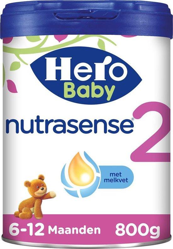 Hero Baby Nutrasense opvolgmelk 2 (6-12m) 3 STUKS