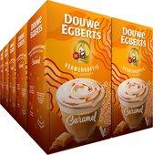 Douwe Egberts Verwenkoffie Latte Caramel Oploskoffie - 10 x 8 zakjes