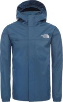 The North Face Resolve Reflective Jas Kinderen - Blue Wing Teal - Maat L